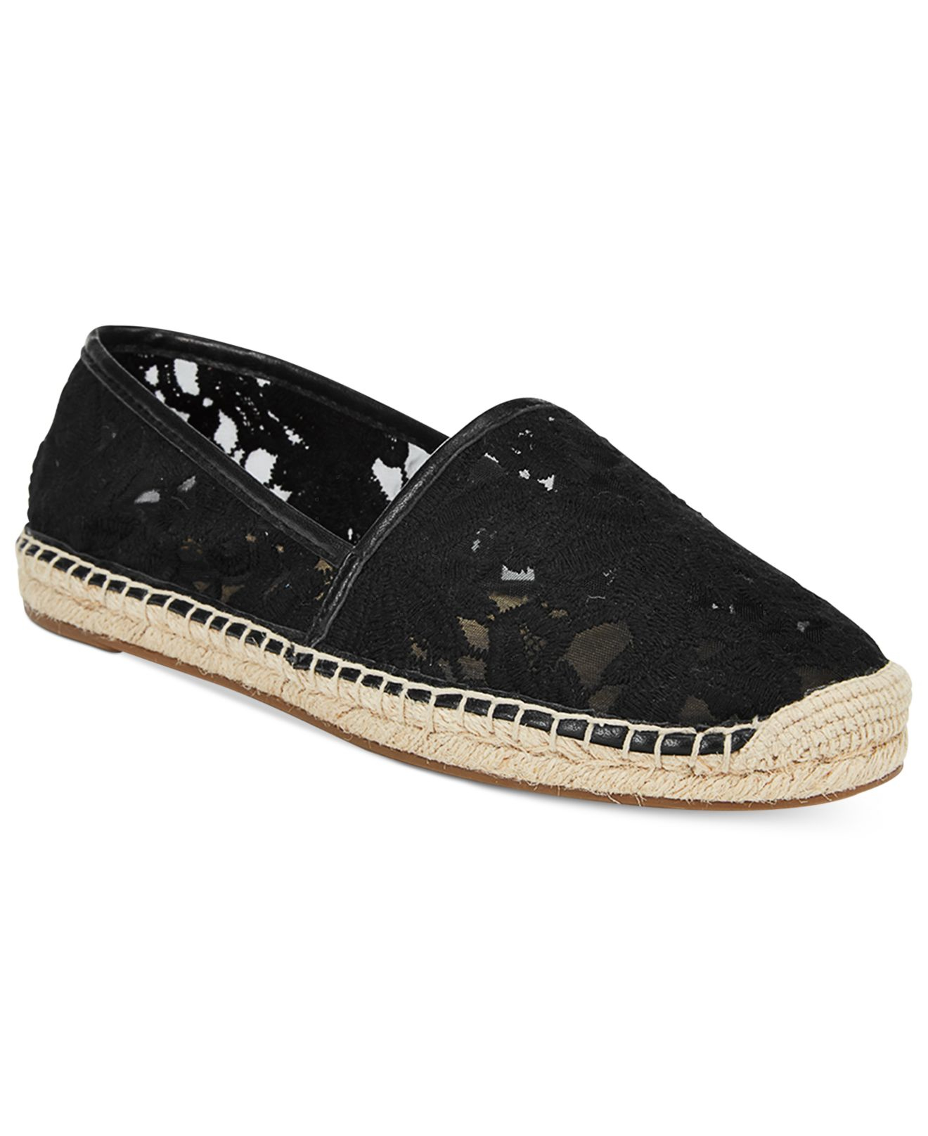 michael kors michael kendrick slip on espadrilles in black lyst. Black Bedroom Furniture Sets. Home Design Ideas