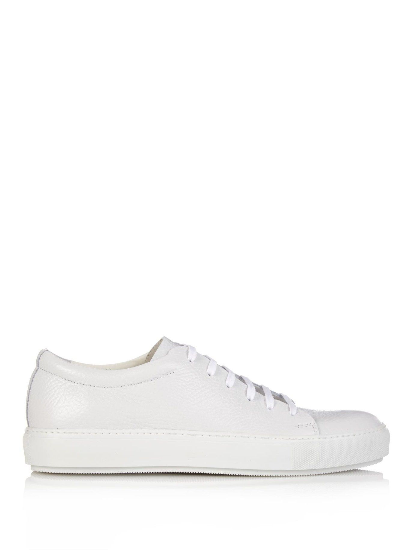 AcneLeather Low Trainers RRlveIKAB