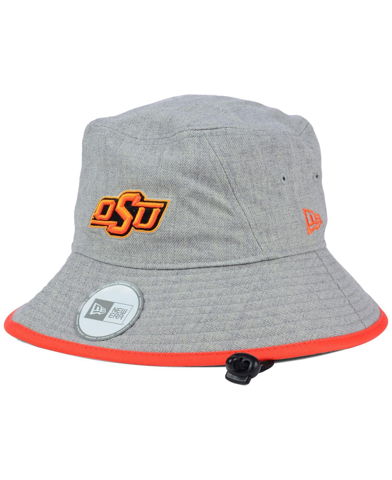 Lyst - KTZ Oklahoma State Cowboys Tip Bucket Hat in Gray 18231d5cb88b