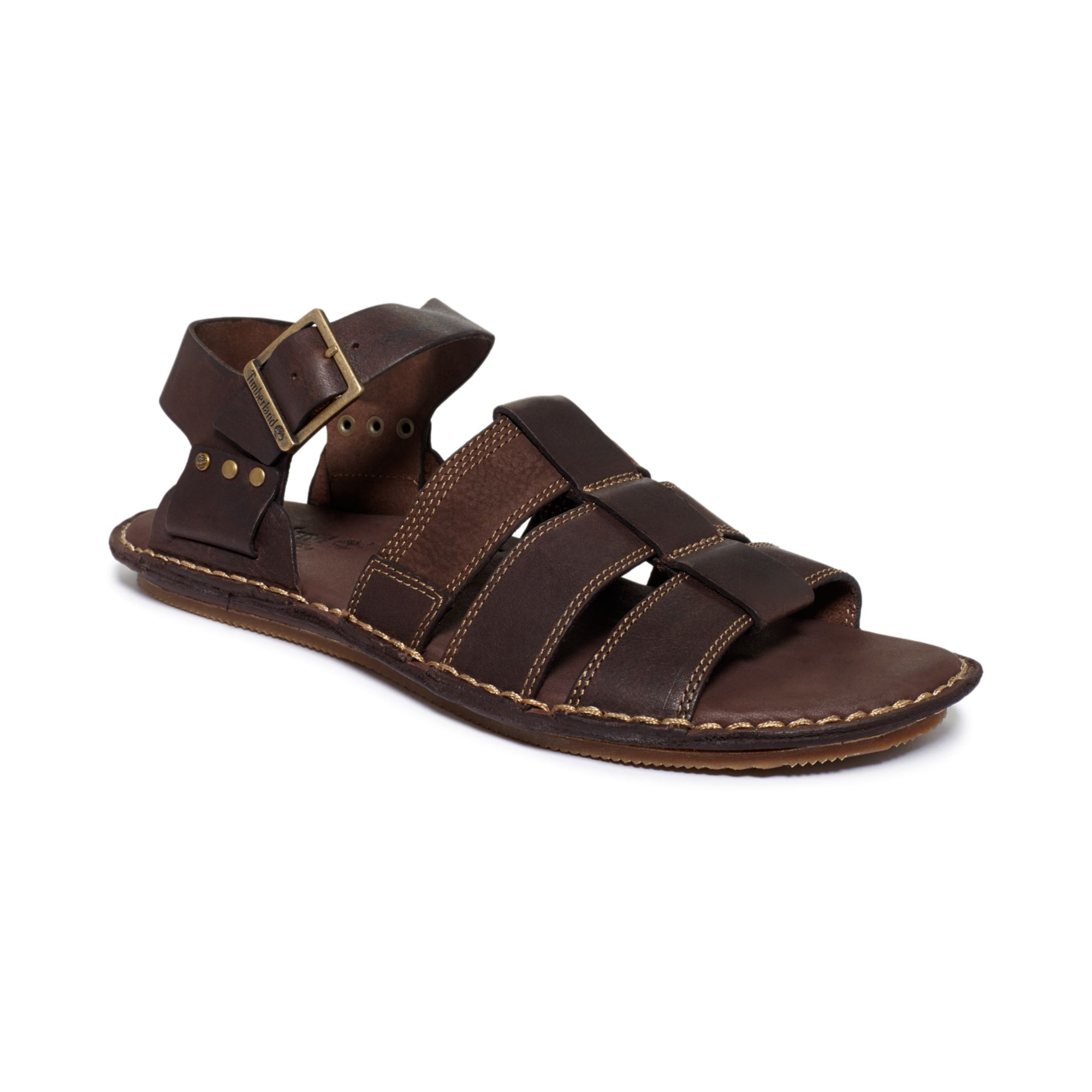 a90166baf08 ... Lyst - Timberland Harbor Point Fisherman Sandals in Brown for Men ...