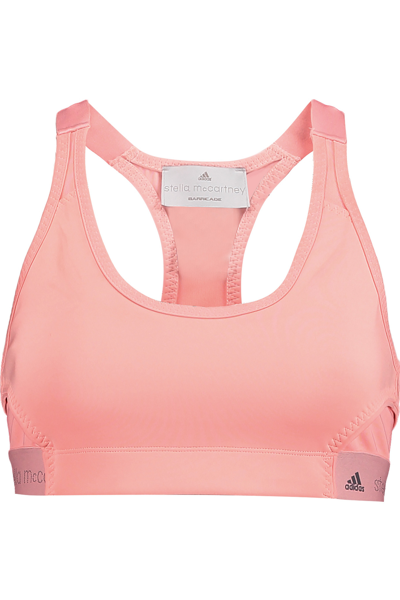 641713412f52e adidas By Stella McCartney The Pull On Stretch-jersey Sports Bra in ...
