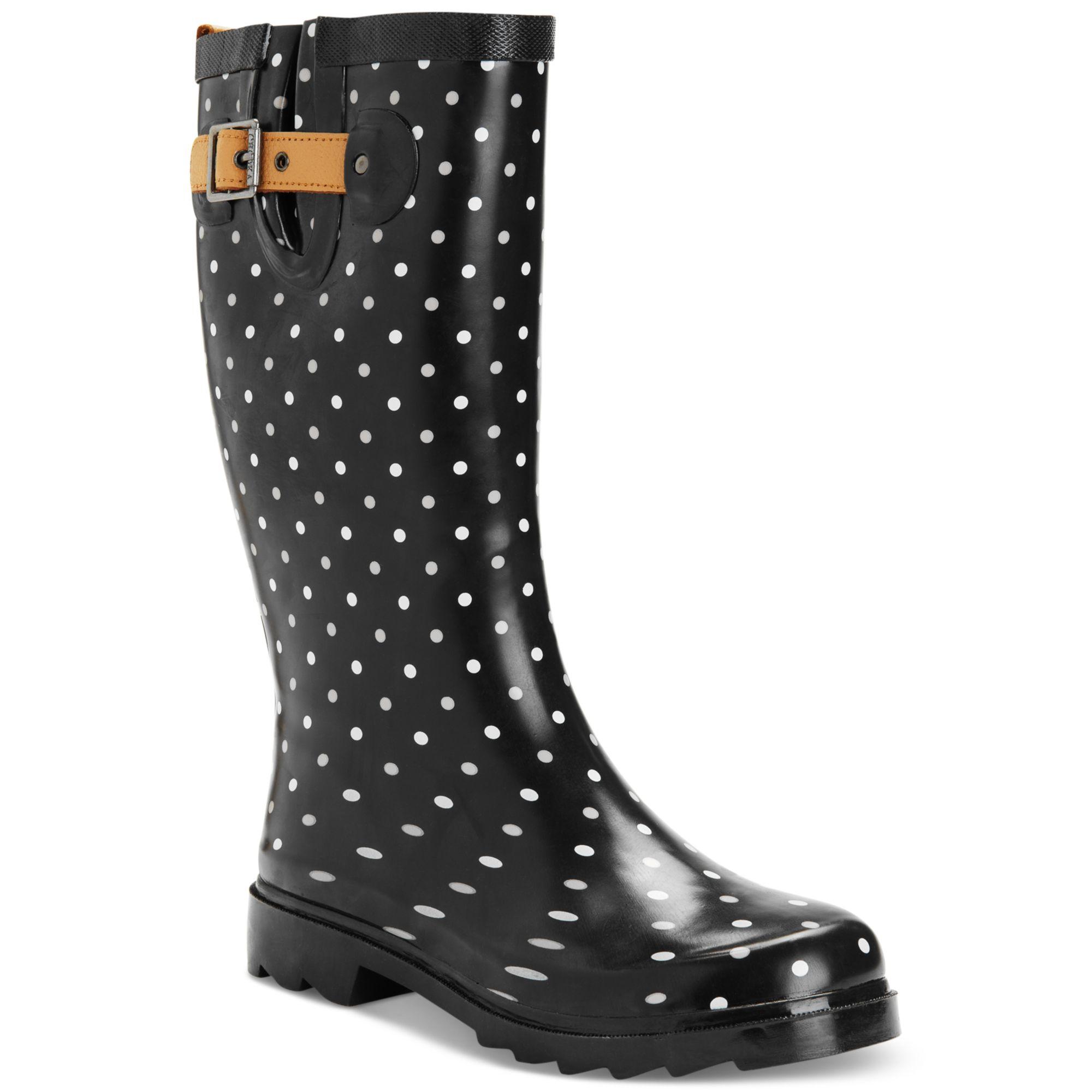 Popular Solid Womens Rain Boots Rubber Wellies Blue Womens Rain Boots Chooka