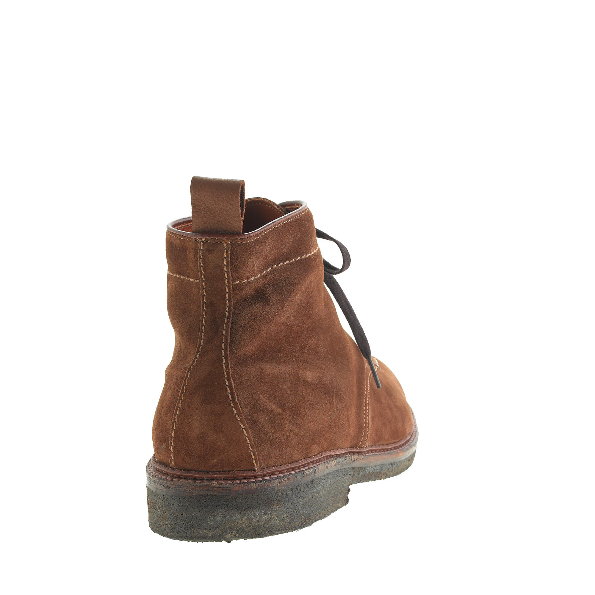 alden suede indy boots in brown for snuff lyst