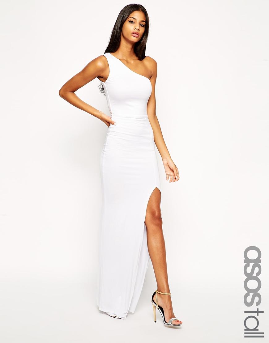 Tall White Maxi Dresses