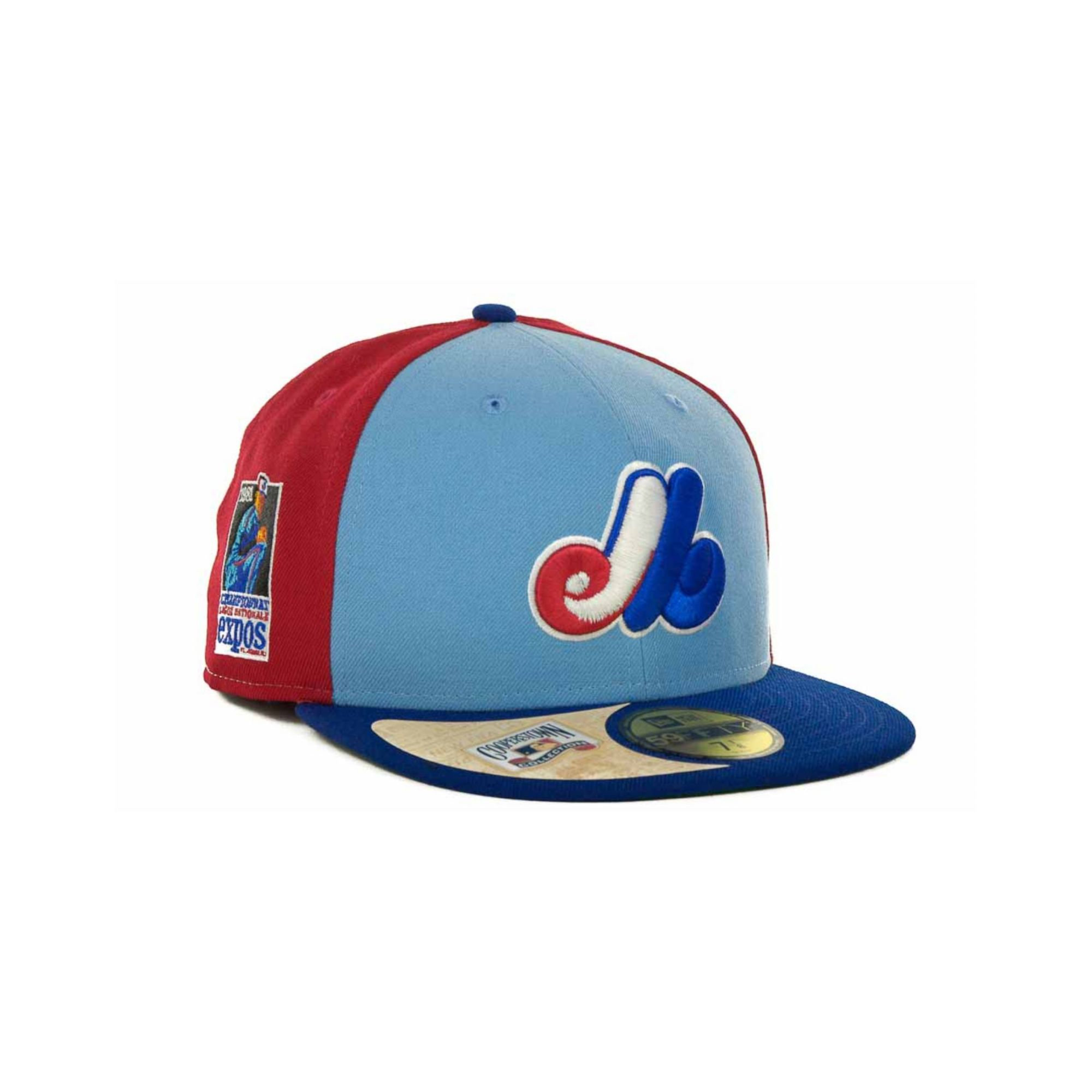 Lyst - KTZ Montreal Expos Cooperstown Patch 59fifty Cap in Blue for Men 7f78ab8e0427