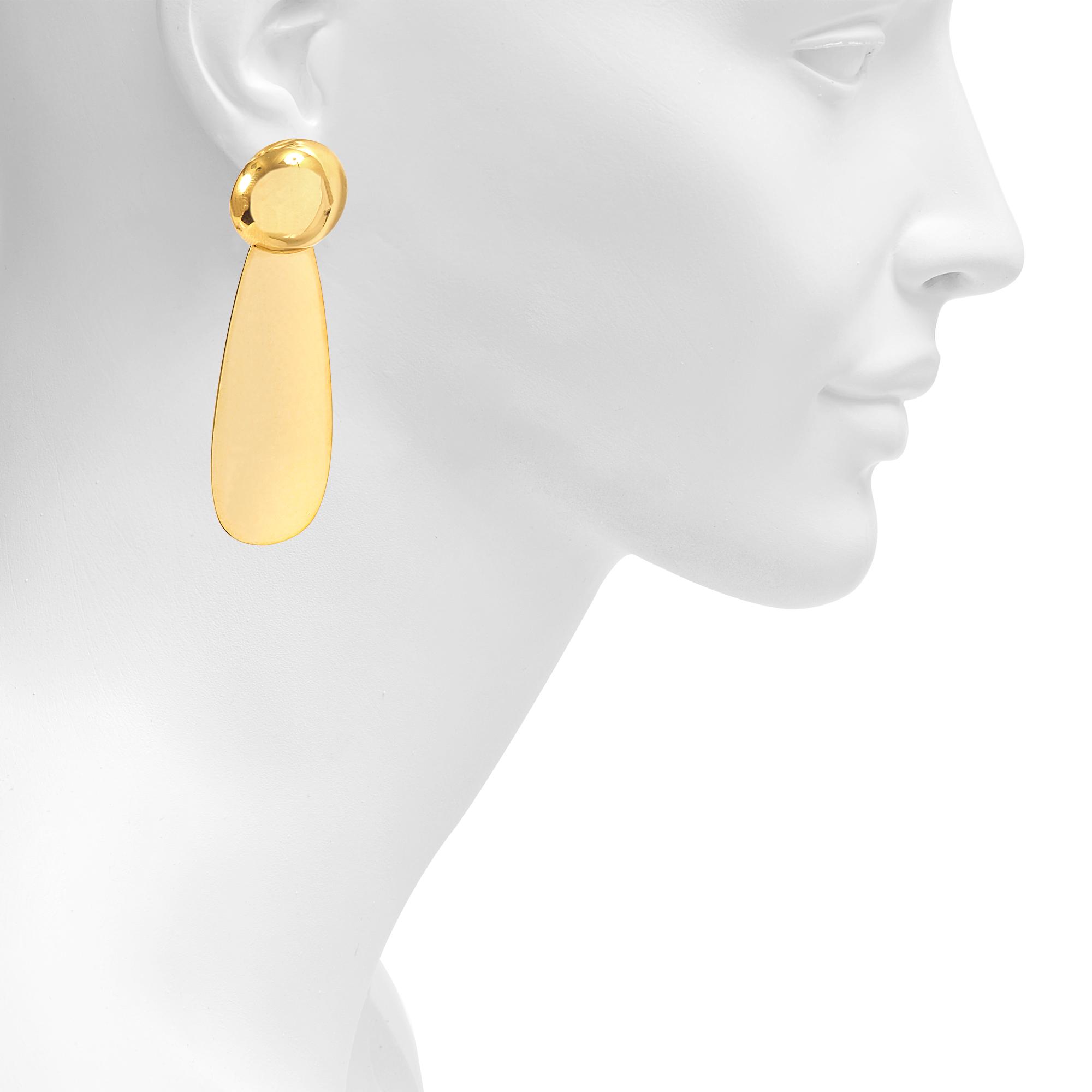 Marni Metal Earrings in Metallics SVJdxh6L2h