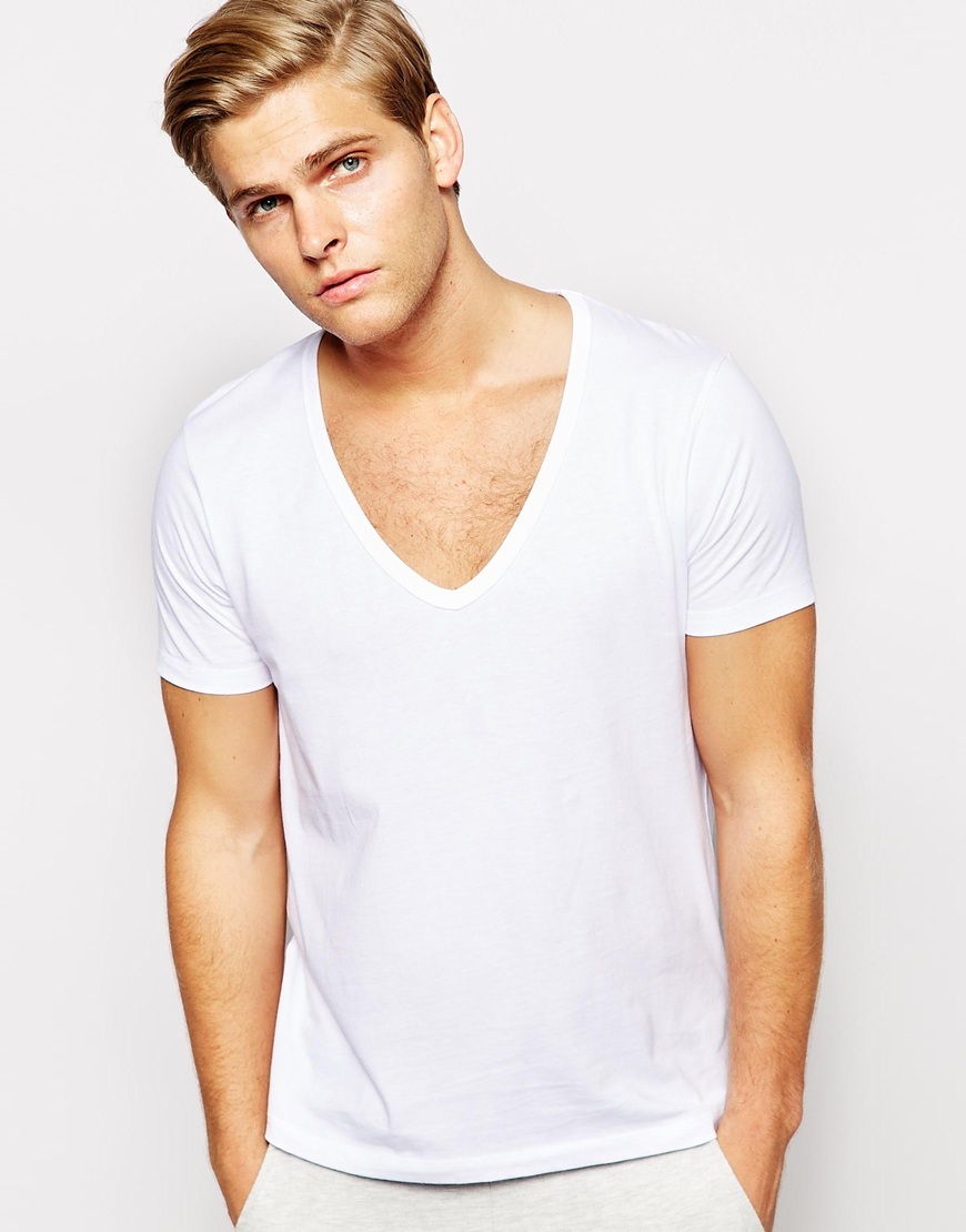 Deep V Neck T Shirts Mens T Shirt Design Database