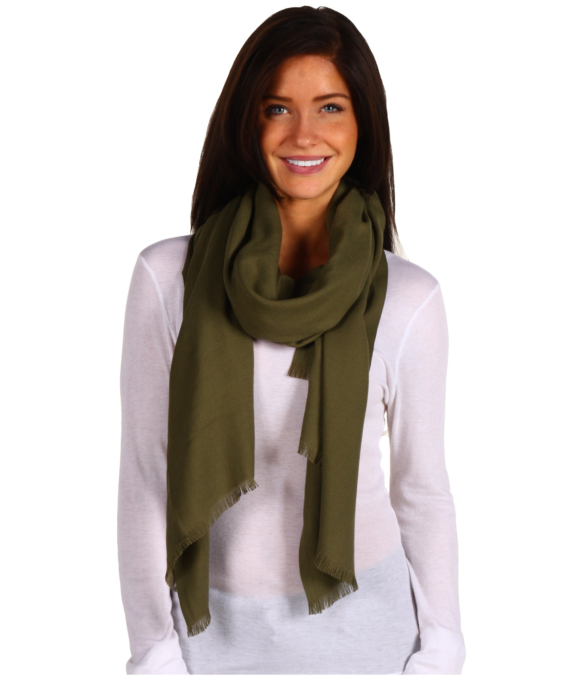 Love Quotes Scarf Love Quotes Rayon Eyelash Fringe Scarf In Green  Lyst