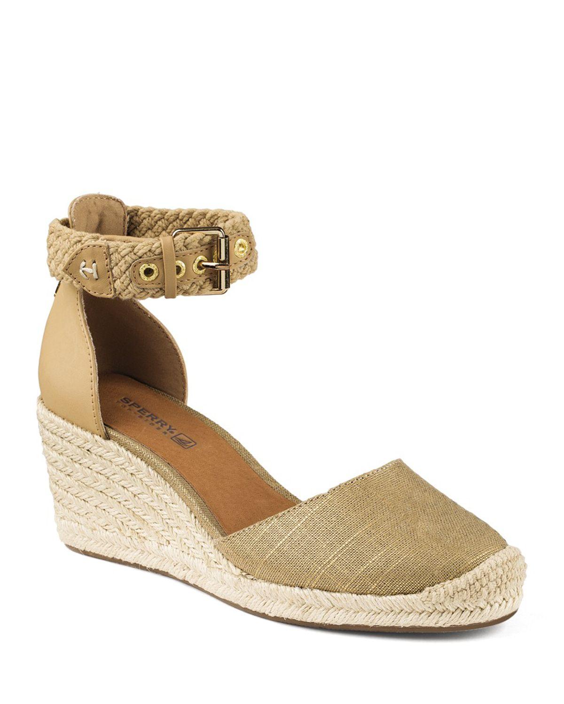sperry top sider espadrille wedge sandals valencia