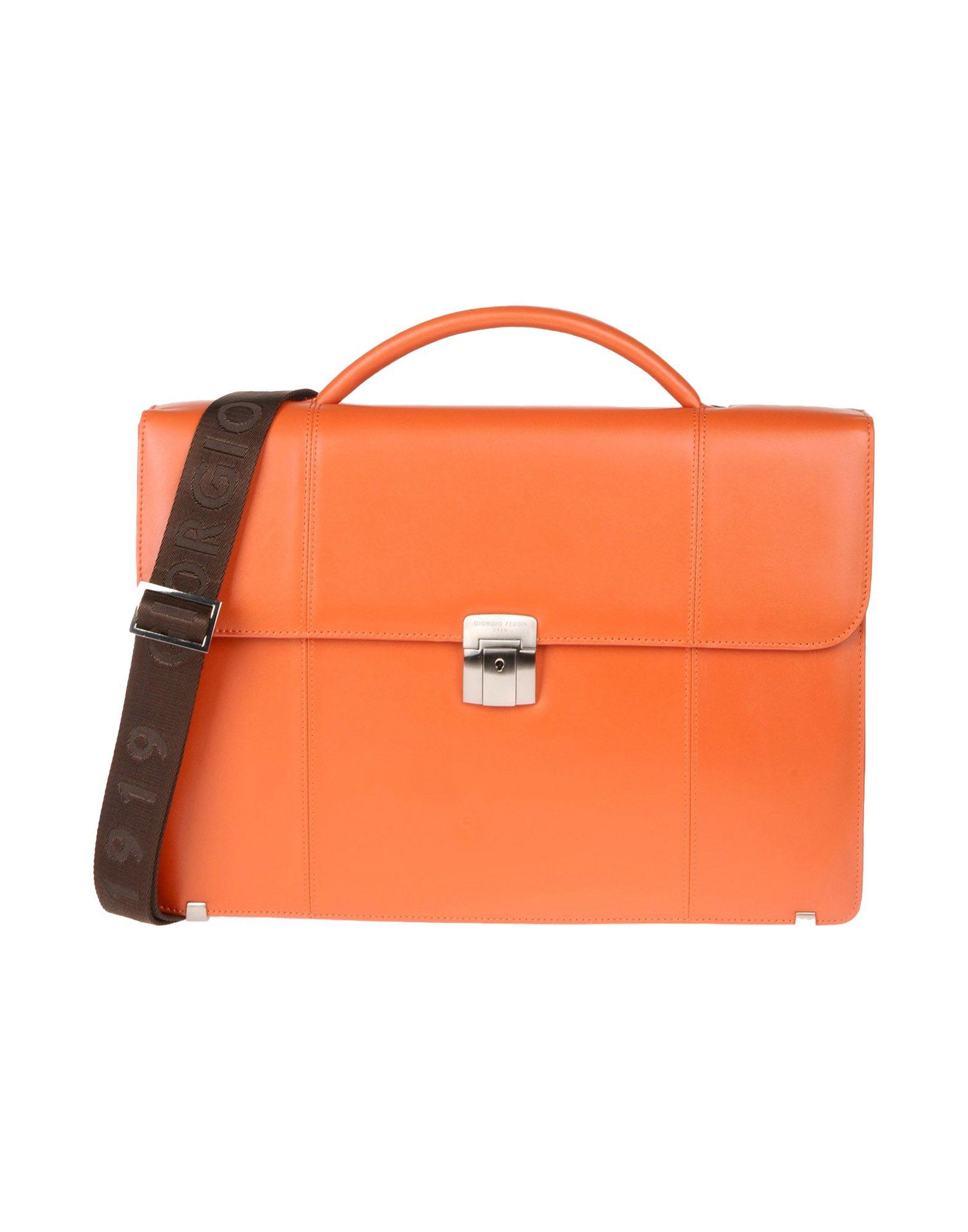 Giorgio fedon Work Bags in Orange