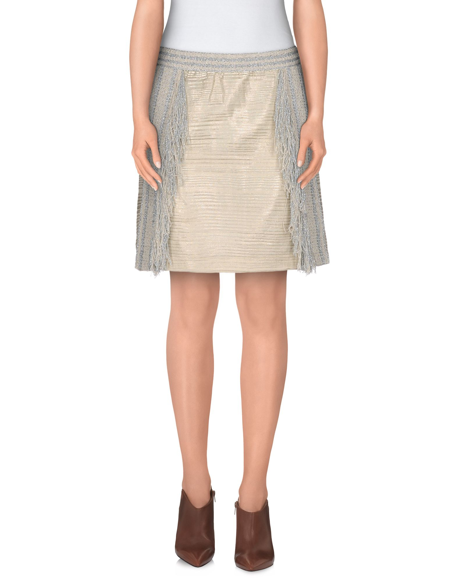 neera mini skirt in white lyst