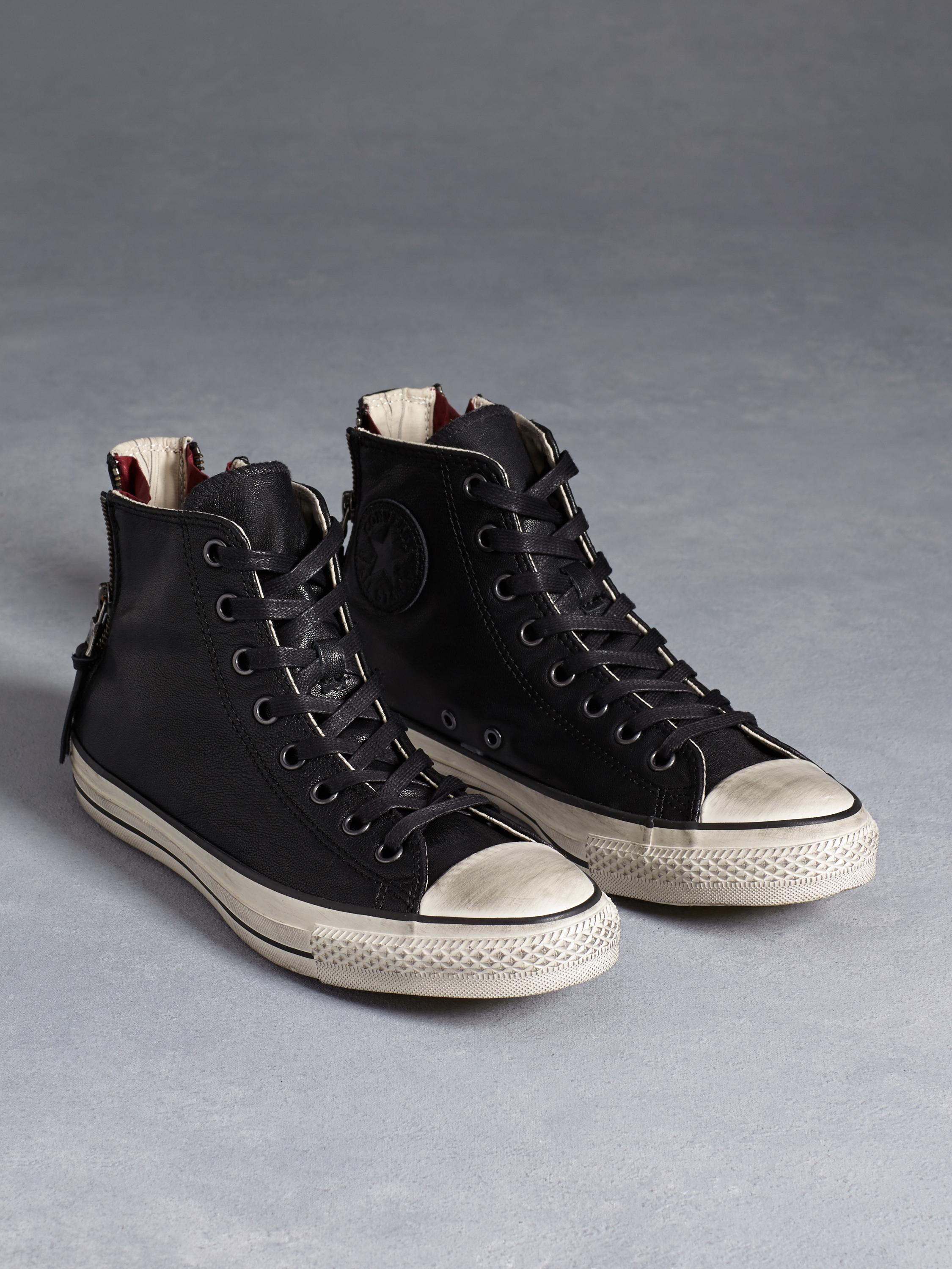 4c721732ad039d Lyst - John Varvatos All Star Quito Leather Double Heel Chuck Taylor ...