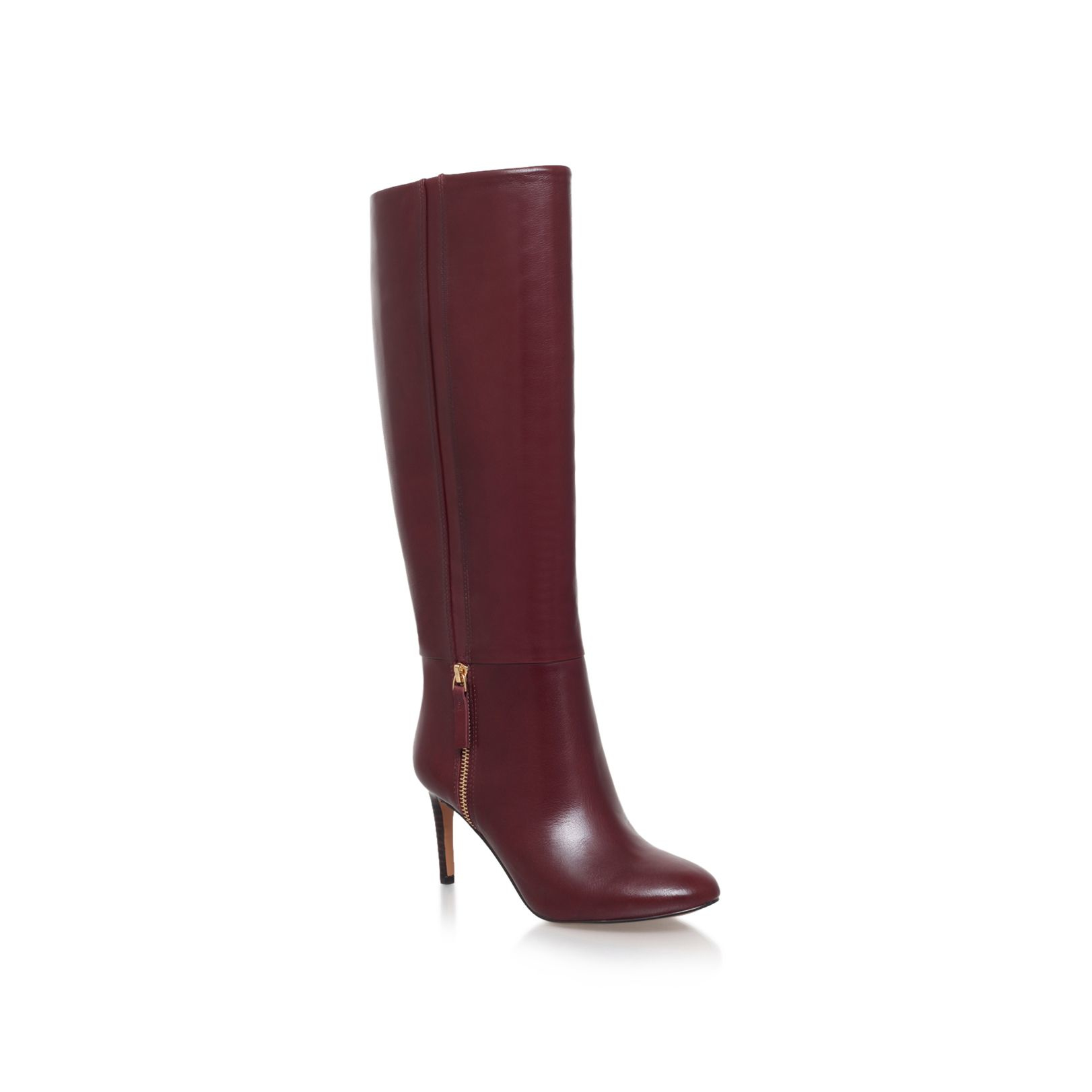 nine west vintage high heel knee high boots in lyst