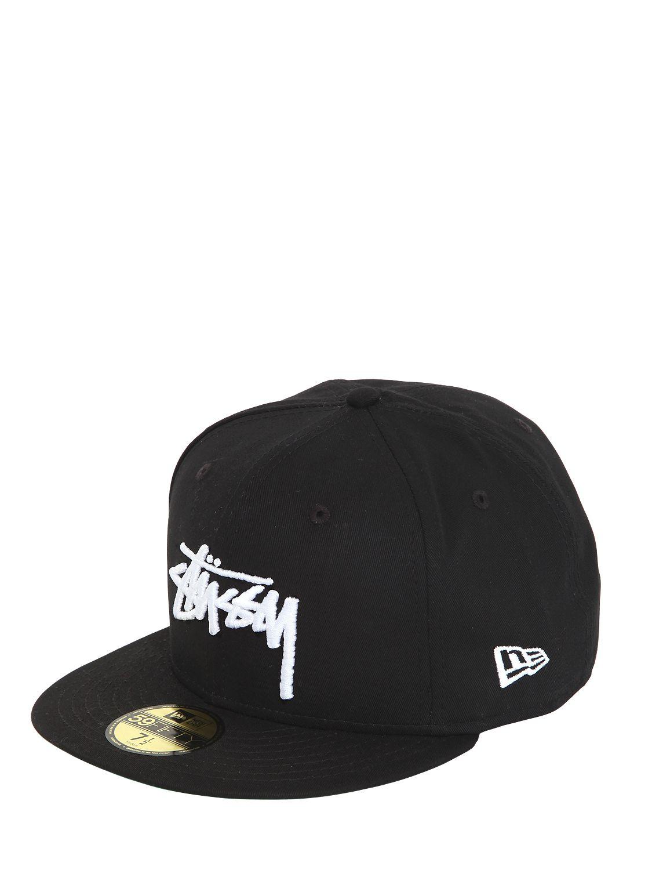 Stussy New Era Baseball Hat in Black - Lyst b5fe45c1432