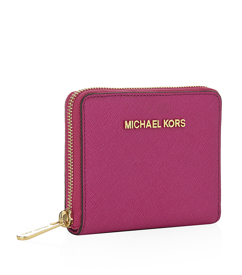138c263f115df2 Michael Kors Small Wallet Women's. Michael michael kors Small Jet Set  Travel Wallet in Pink | Lyst