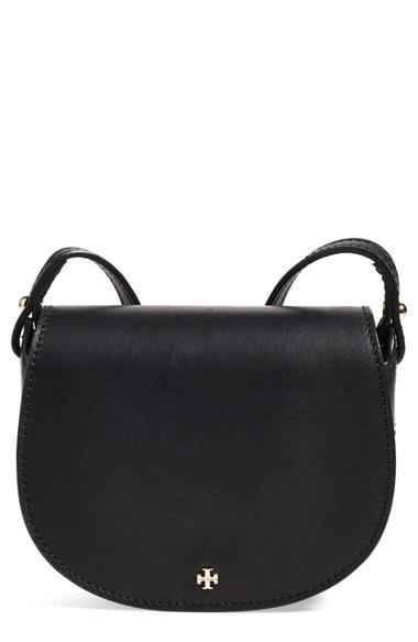 2f6a2abb4c05 ... norway lyst tory burch mini leather saddle bag in black 288c4 e6ea3