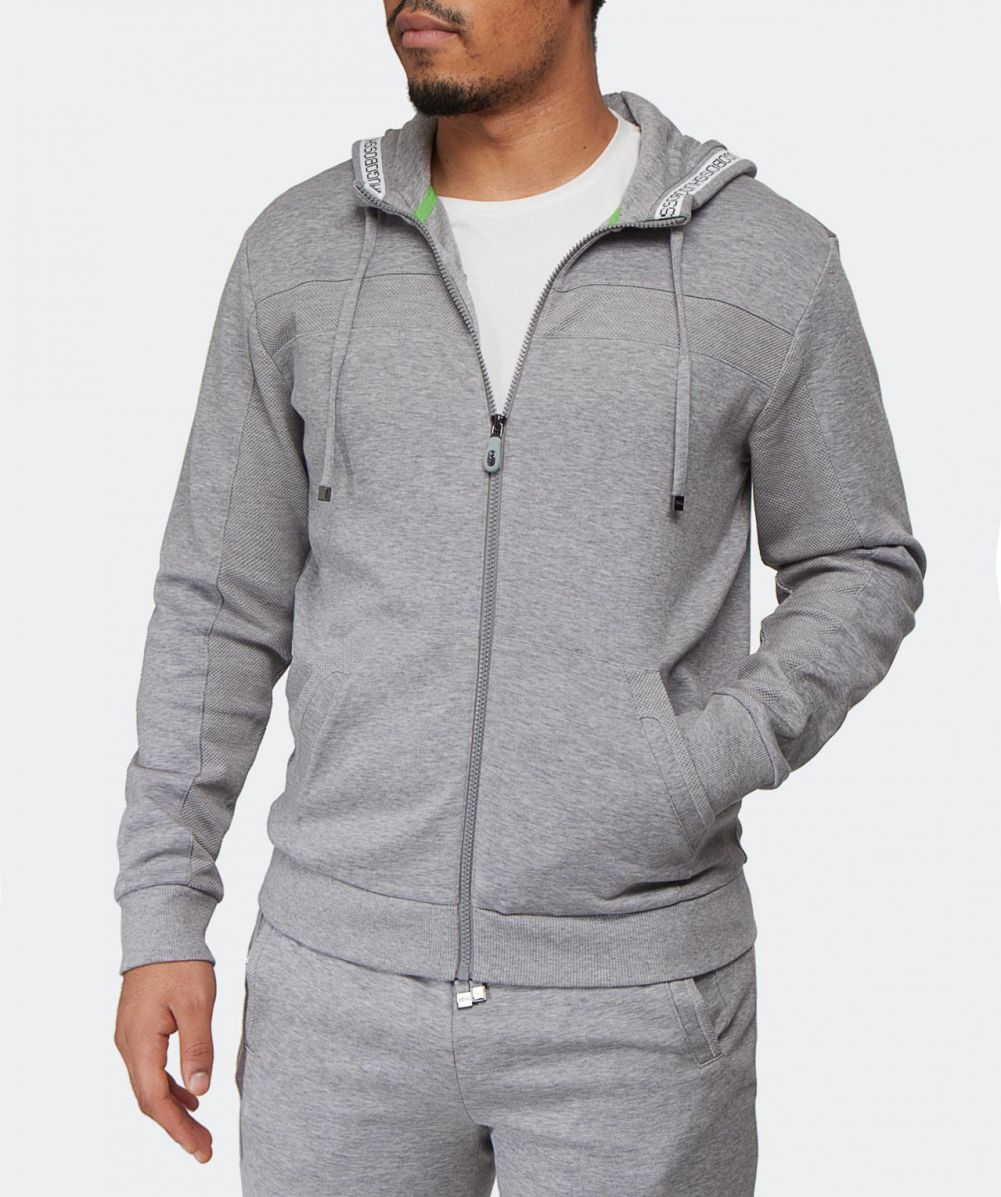 12706232e BOSS Green Saggy Hoodie in Gray for Men - Lyst