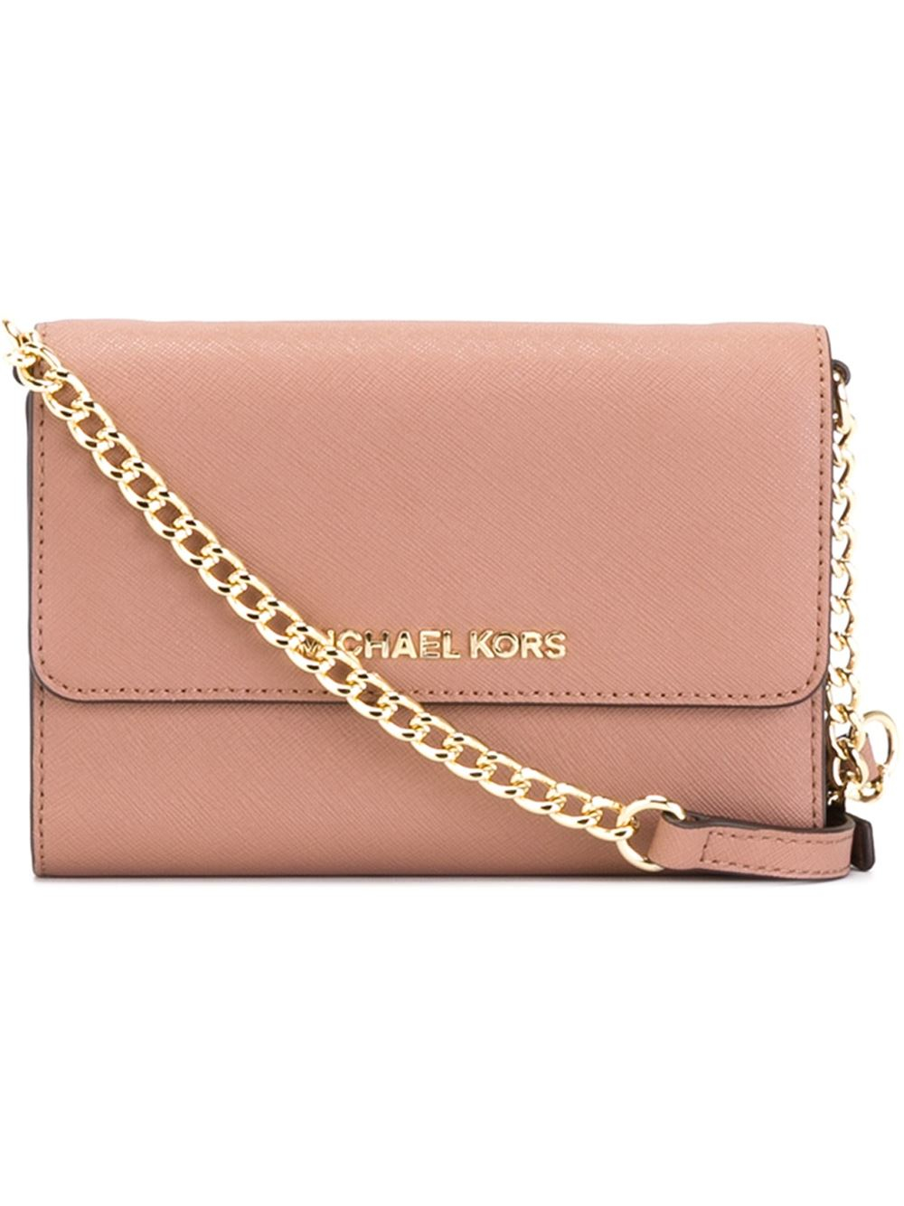276609242037 MICHAEL Michael Kors  jet Set Travel  Phone Crossbody Bag in Pink - Lyst