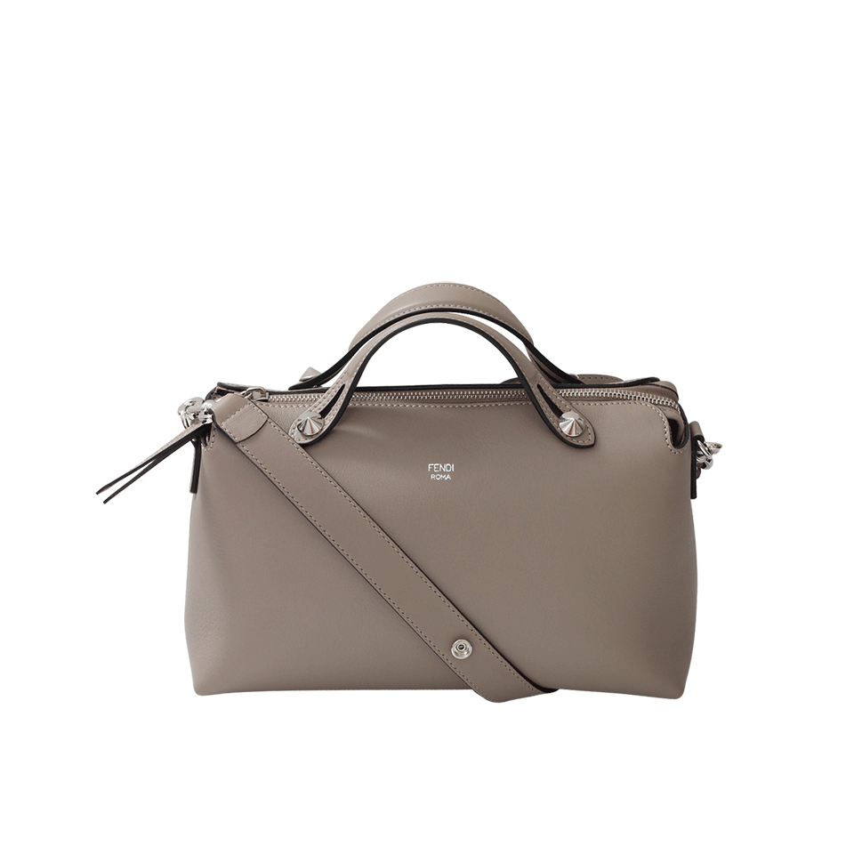 a0a8373be23e low cost fendi by the way bag dove grey a1eb3 4eeb0  inexpensive fendi  handbag by the way bauletto leather in gray lyst 33d0e 70178