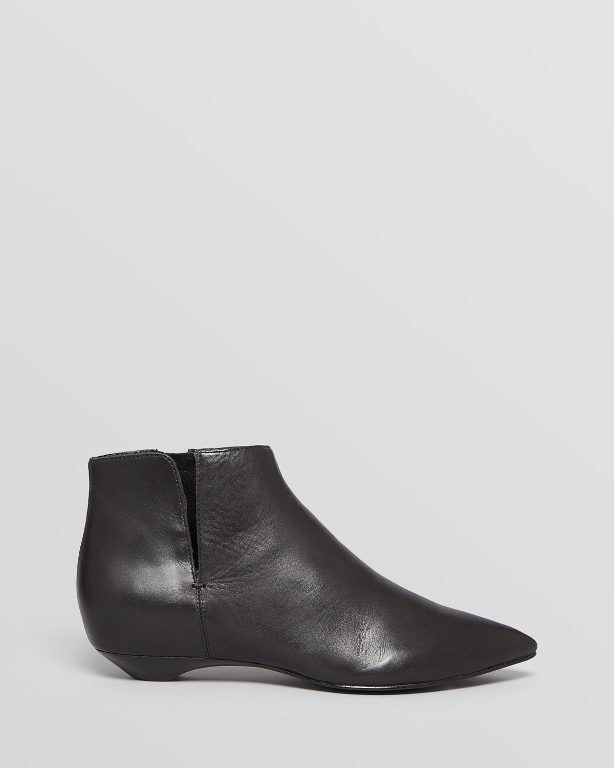 Lyst Sigerson Morrison Pointed Toe Flat Booties
