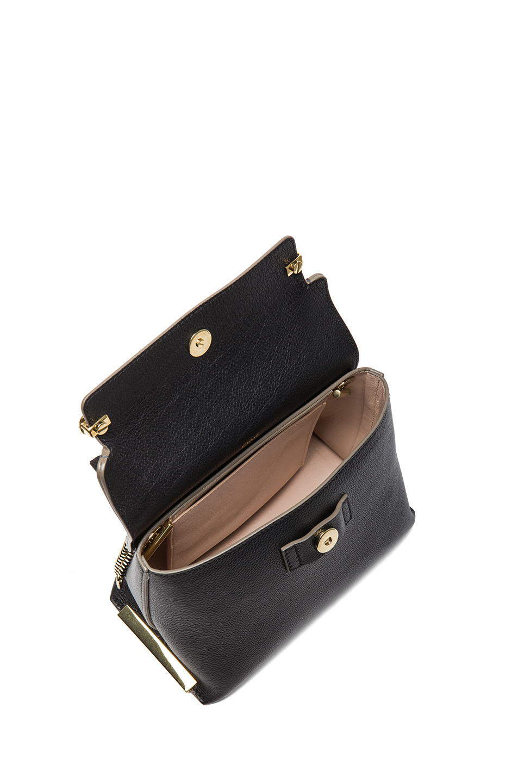 Chlo¨¦ Clare Small Bag in Black (Black \u0026amp; Sand) | Lyst