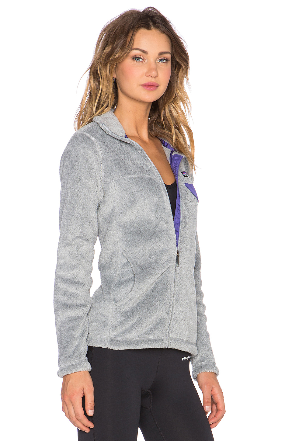 Lyst Patagonia Full Zip Re Tool Knitted Jacket In Gray