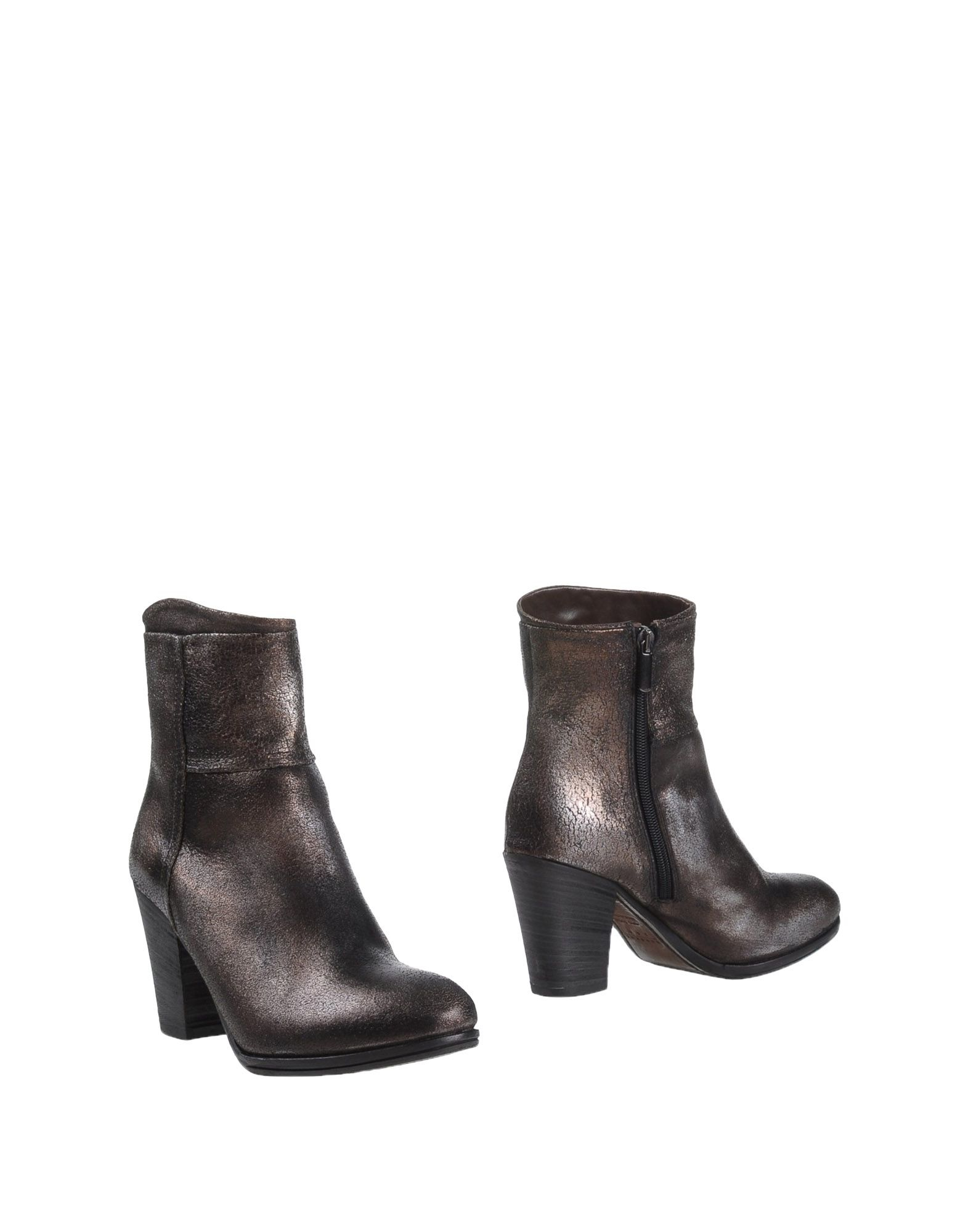 Lyst Hundred 100 Ankle Boots In Gray