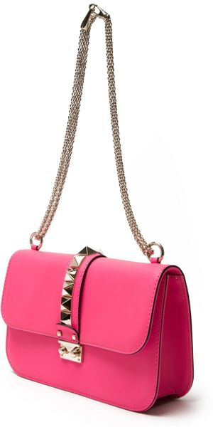 Valentino Pink Shoulder Bag 96