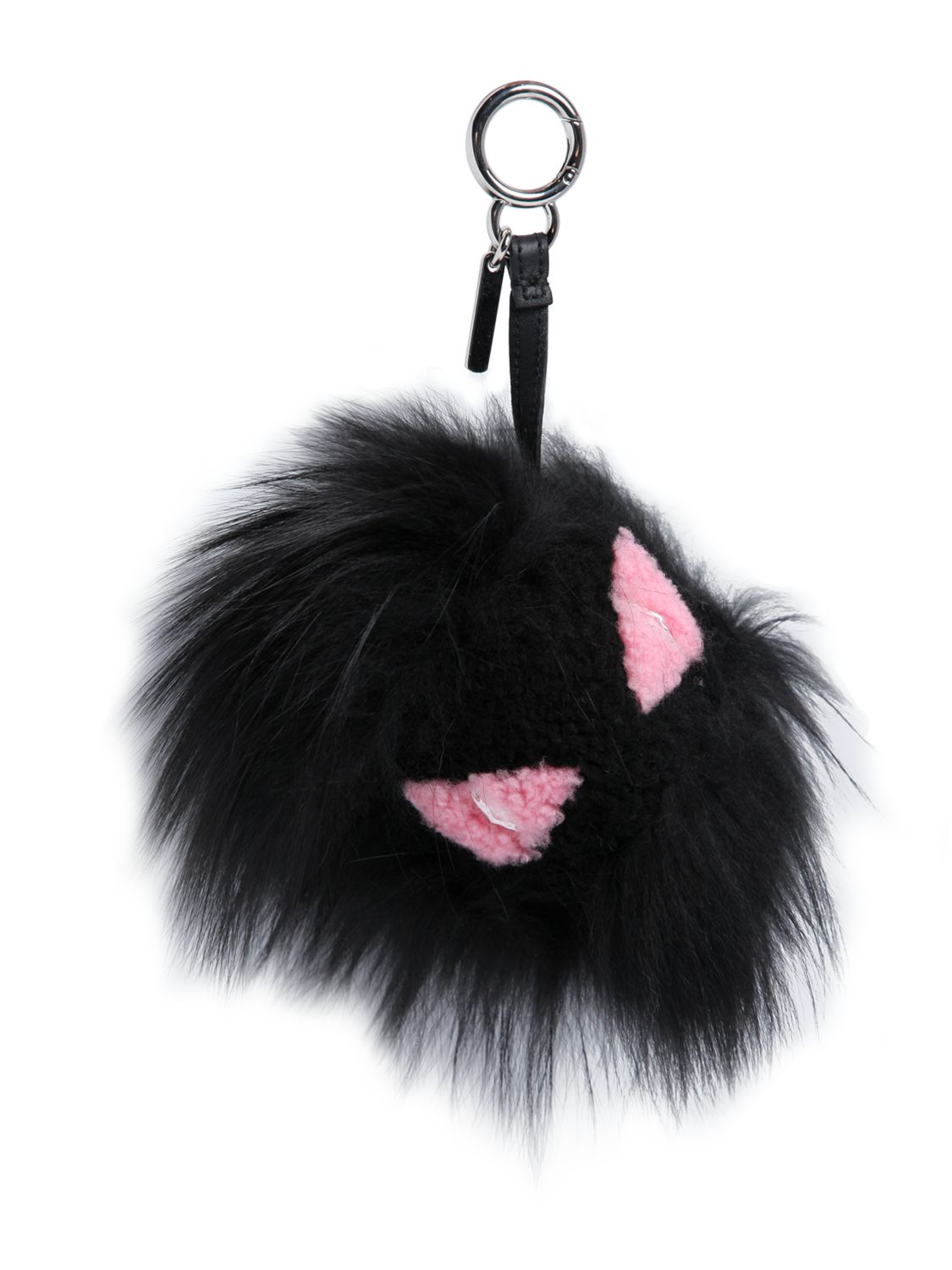 Fendi Monster bag charm - Black iCL7YkTp