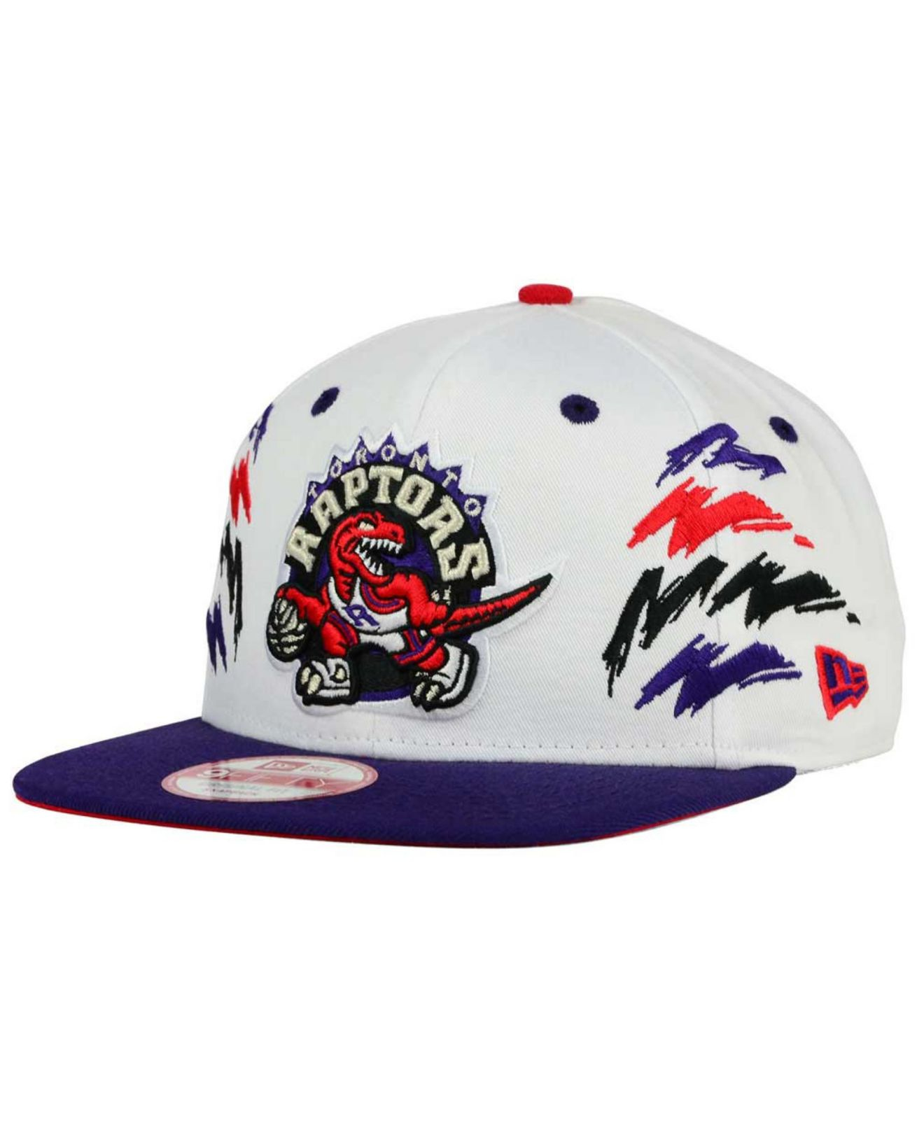 finest selection 85f83 3abb7 ... canada lyst ktz toronto raptors old cool 9fifty snapback cap in blue  for men 7246b 63f8e