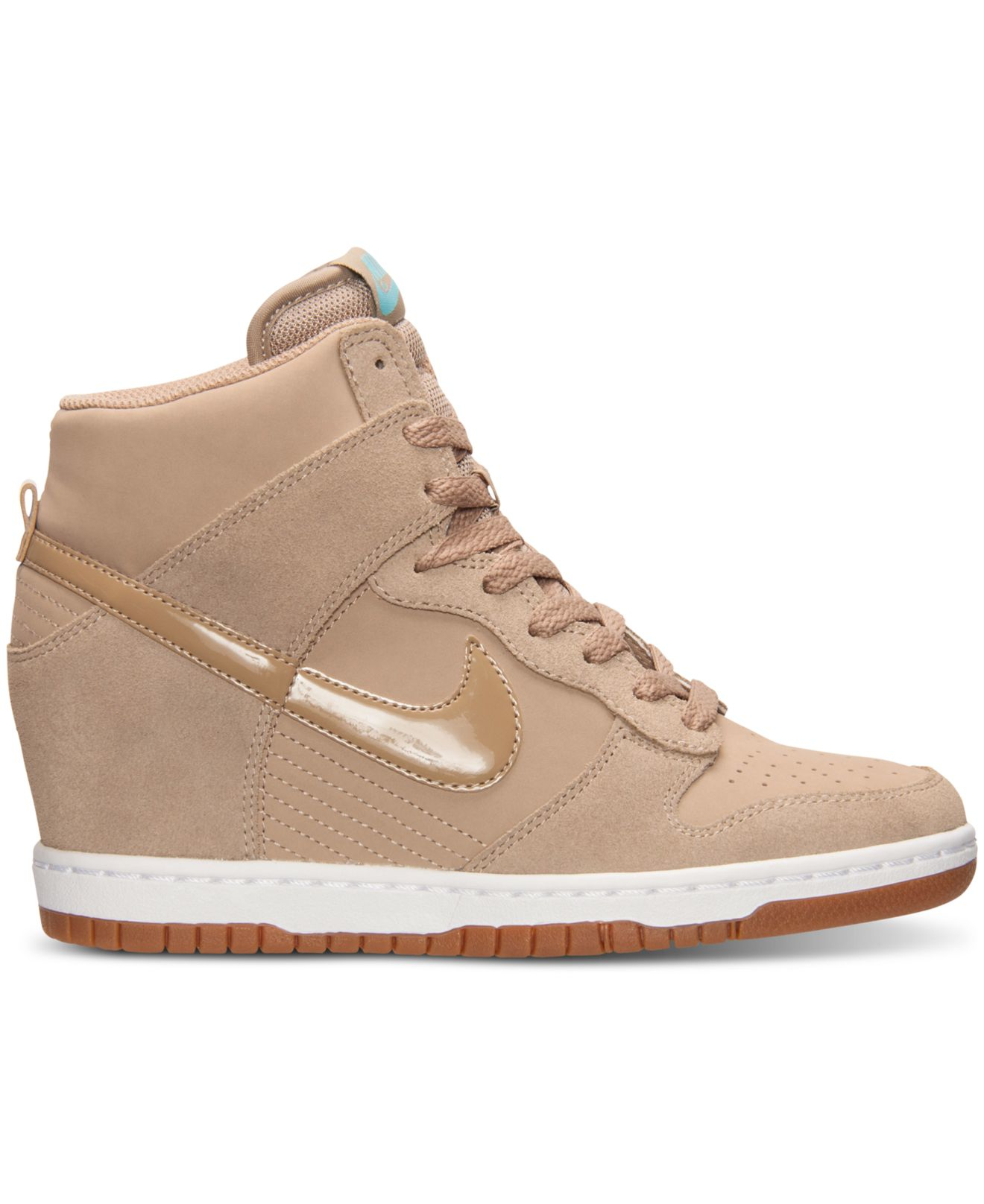 Gallery. Previously sold at  Macy s · Women s Wedge Sneakers Women s Nike  Dunk Women s Nike Dunk Sky Hi ... 203b39bb7