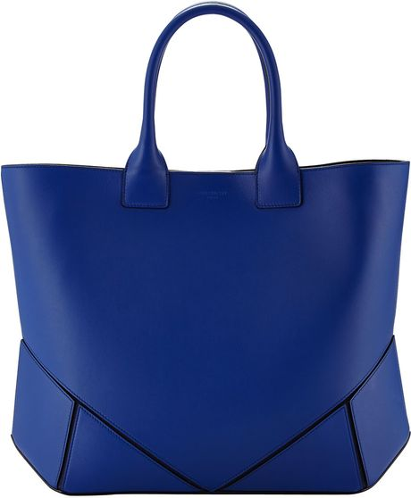Givenchy Napa Stitched Easy Tote Bag Royal in Blue (ROYAL)