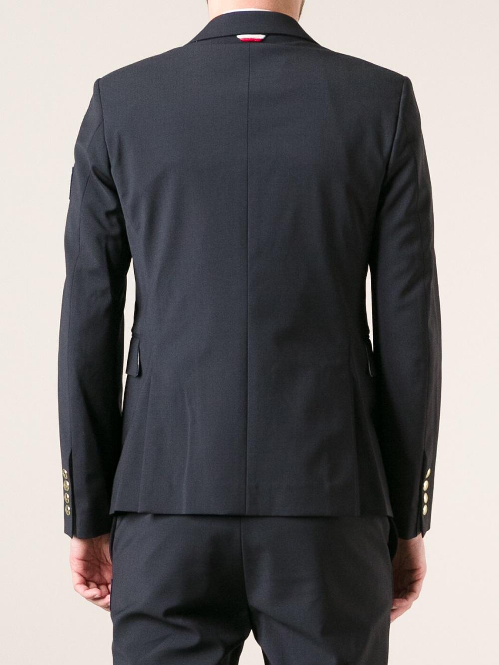 moncler suit jacket