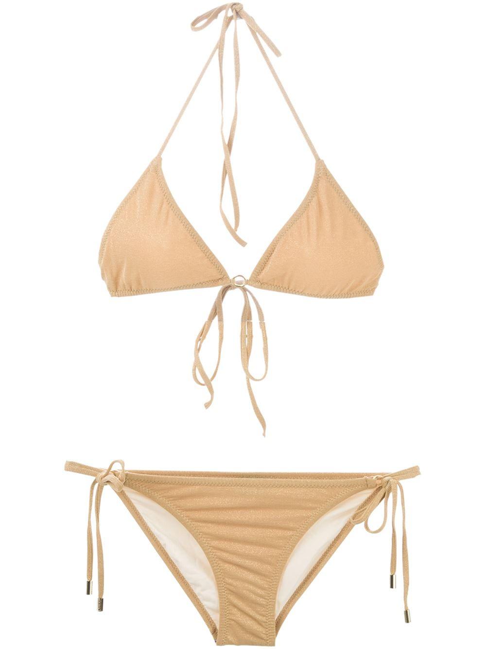 426de98ce1d80 Melissa Odabash Monte Carlo Bikini in Metallic - Lyst