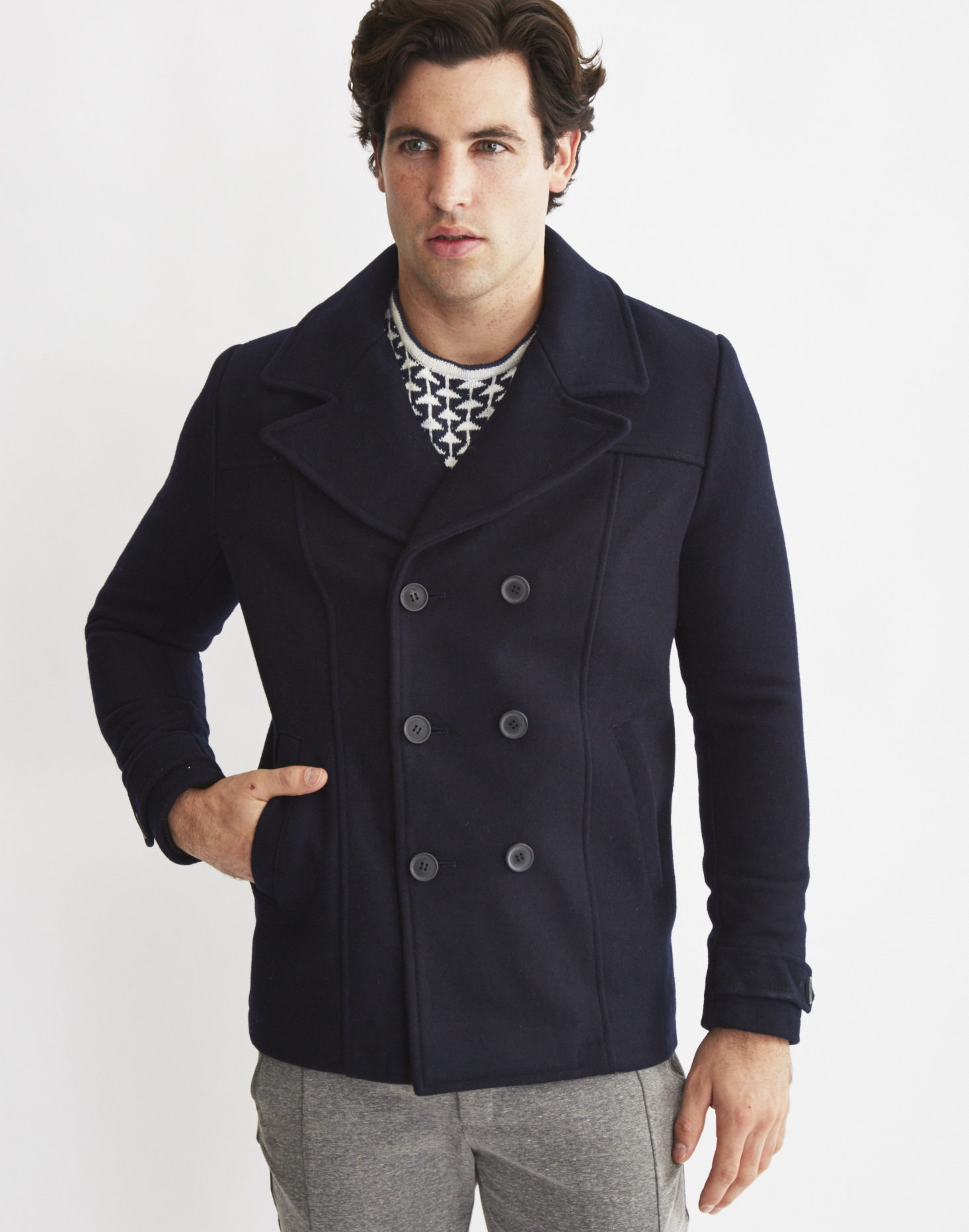 Only & sons Mens Peacoat Navy in Blue for Men | Lyst