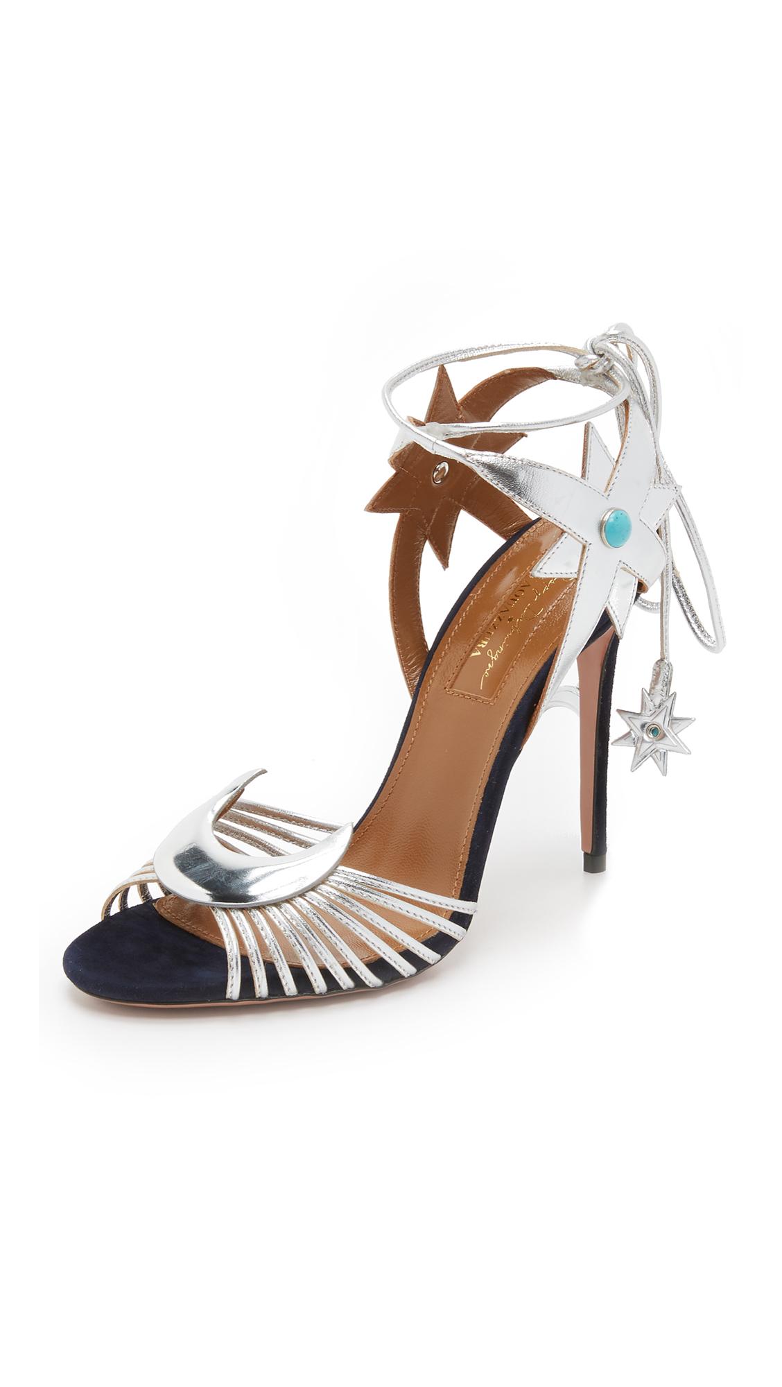 Black poppy sandals - Gallery