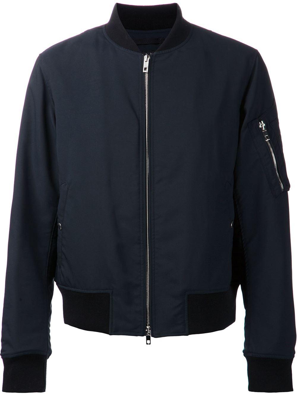 Rag Amp Bone Manston Jacket In Blue For Men Lyst