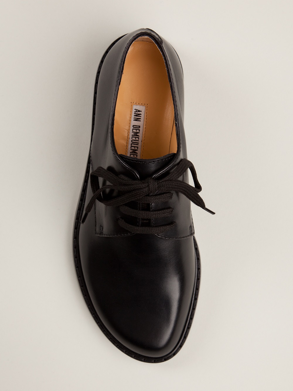Lyst Ann Demeulemeester Blanche Chunky Derby Shoe In Black