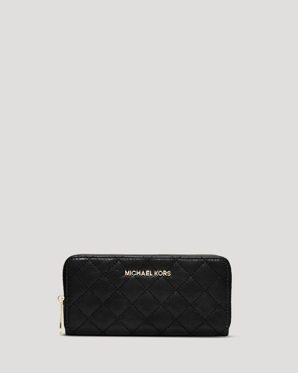 38f73825e2c852 MICHAEL Michael Kors Wallet - Quilted Zip Around Continental in ...