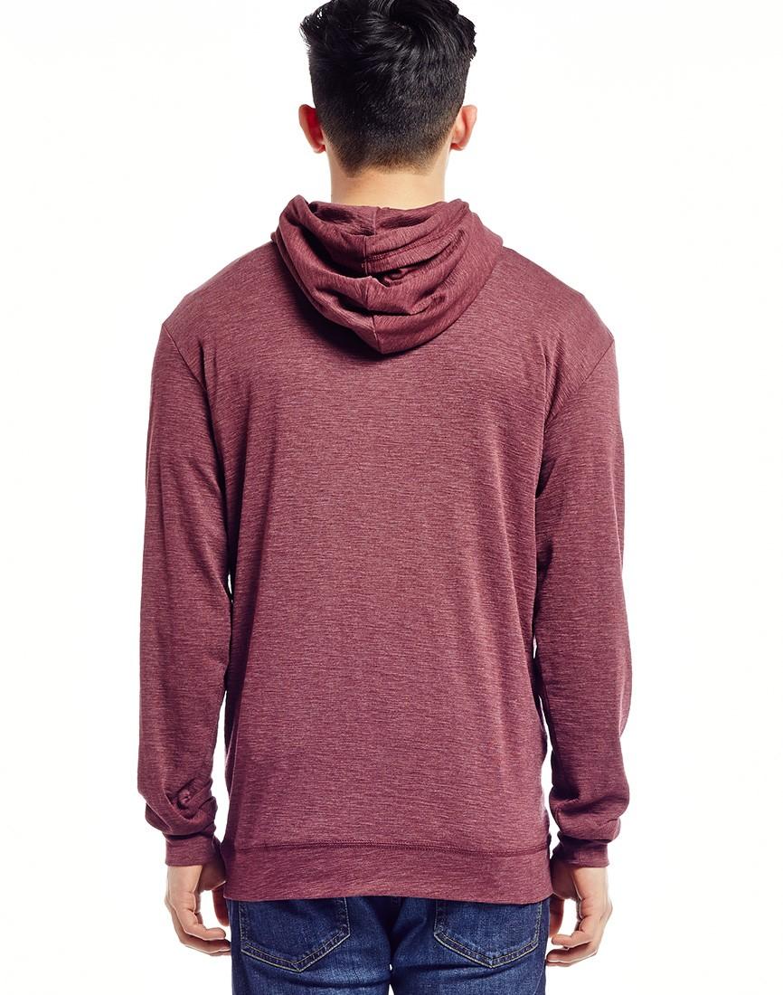 g star raw g star nuelik hoodie in red for men lyst. Black Bedroom Furniture Sets. Home Design Ideas