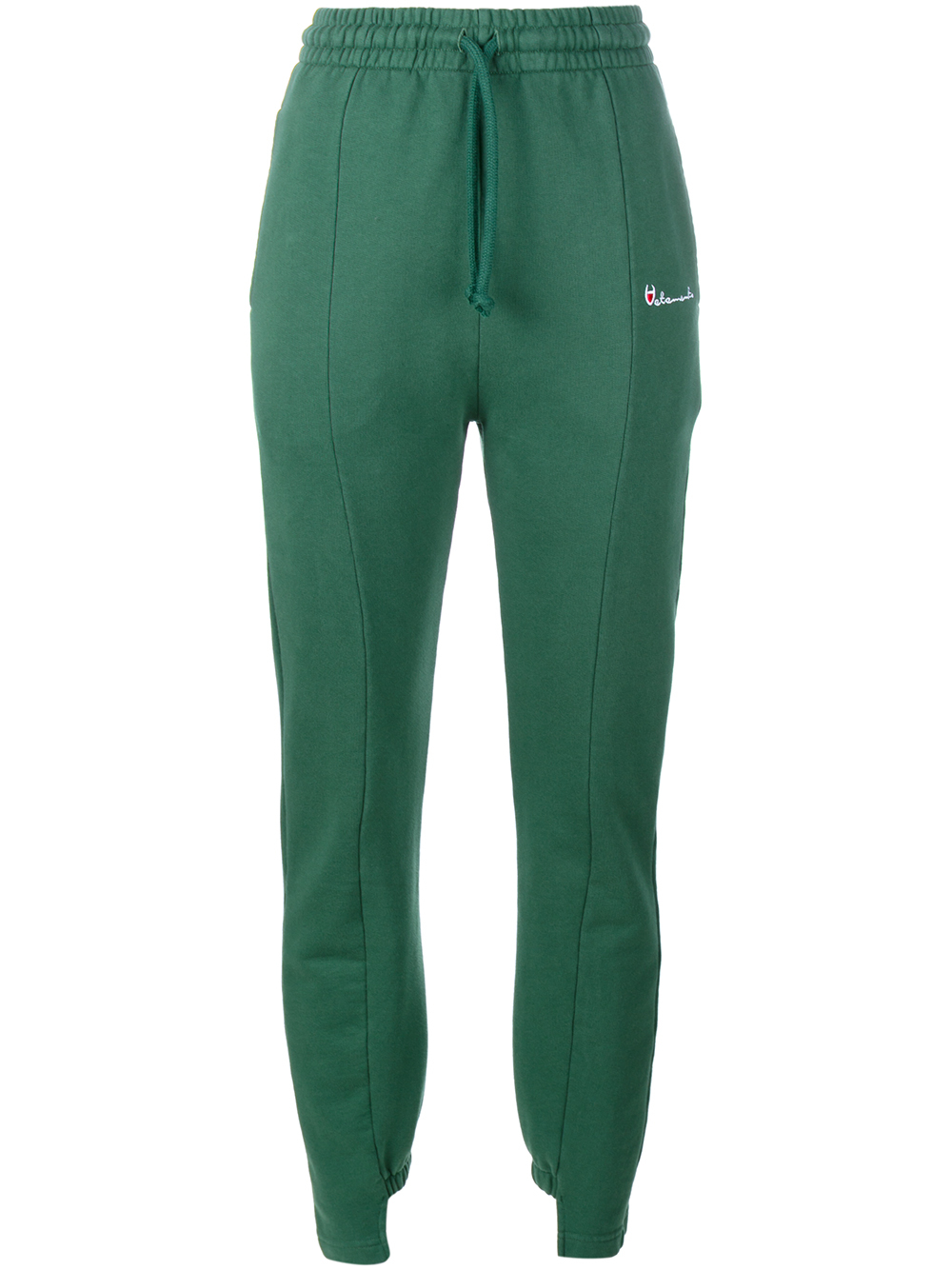 Vetements Cut-out Cuff Sweat Pants in Green | Lyst