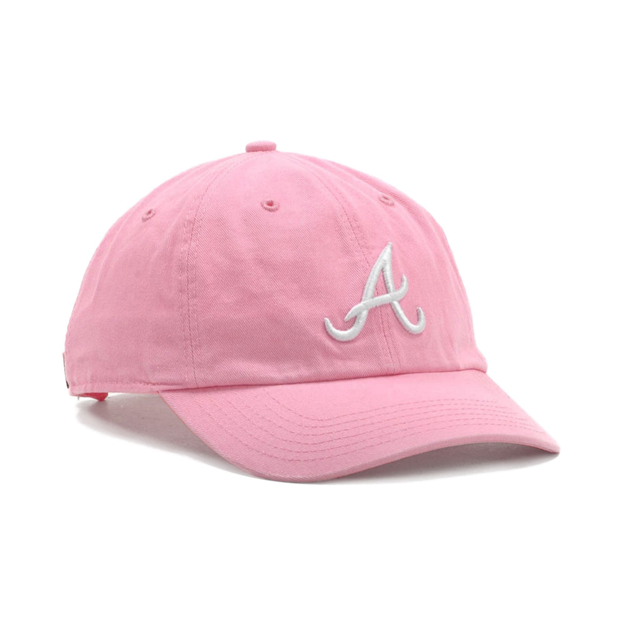 dadef24c92500d ... greece lyst 47 brand atlanta braves clean up hat in pink for men d3418  7146f