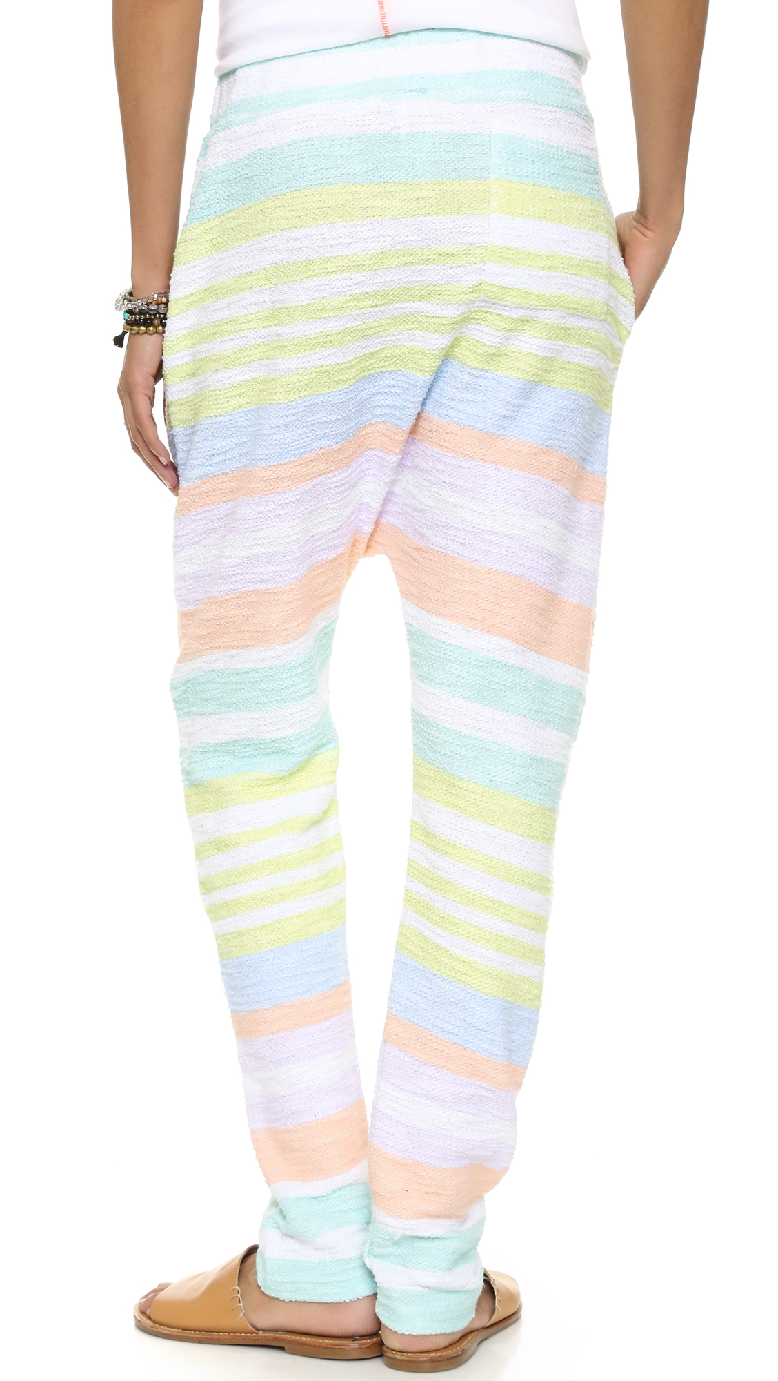 Pastel Striped Pattern Womens Clothing & Apparel