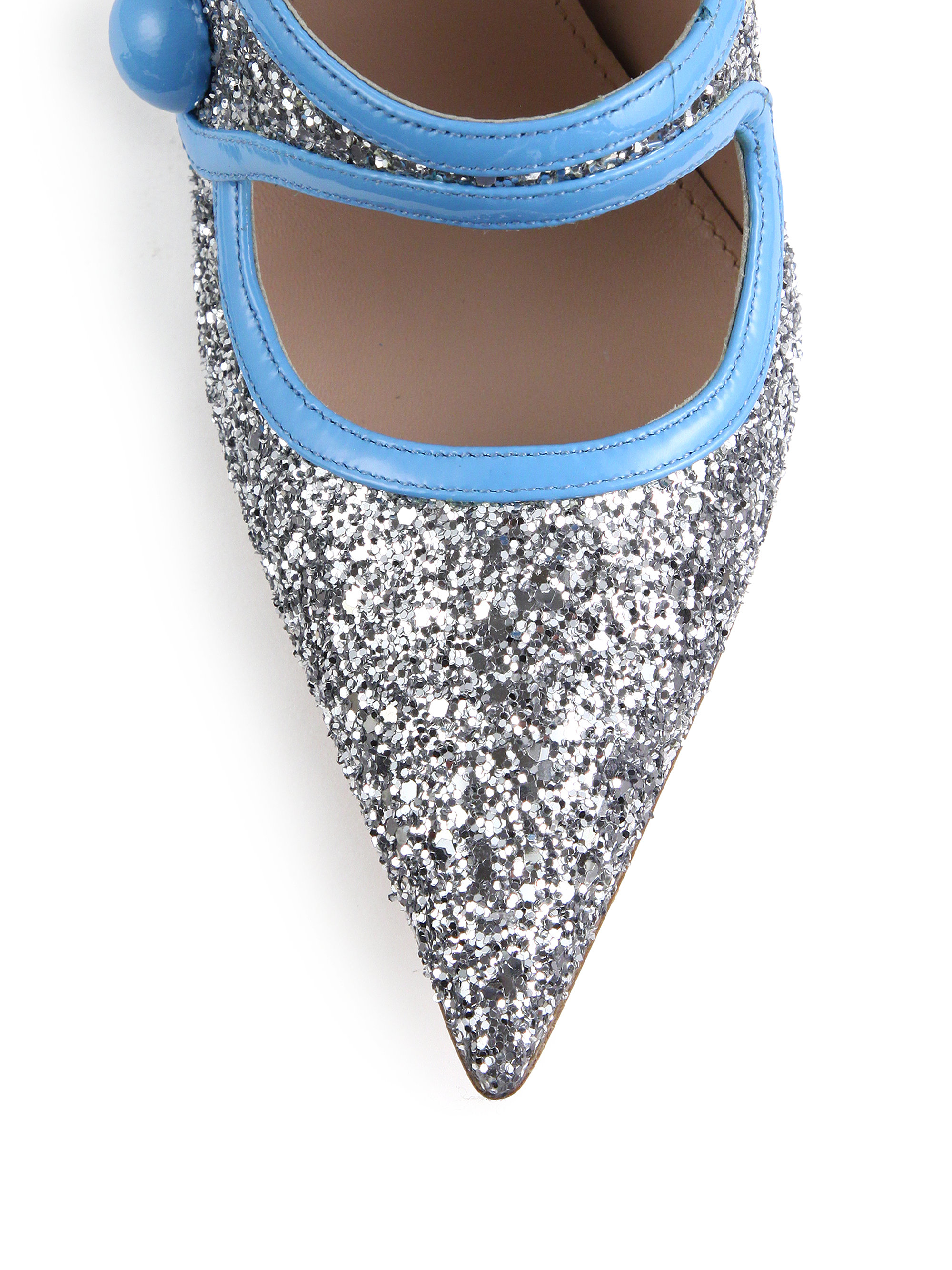 515f8b4f928 Gallery. Previously sold at  Saks Fifth Avenue · Women s Mary Jane Shoes  Women s Miu Miu Glitter ...