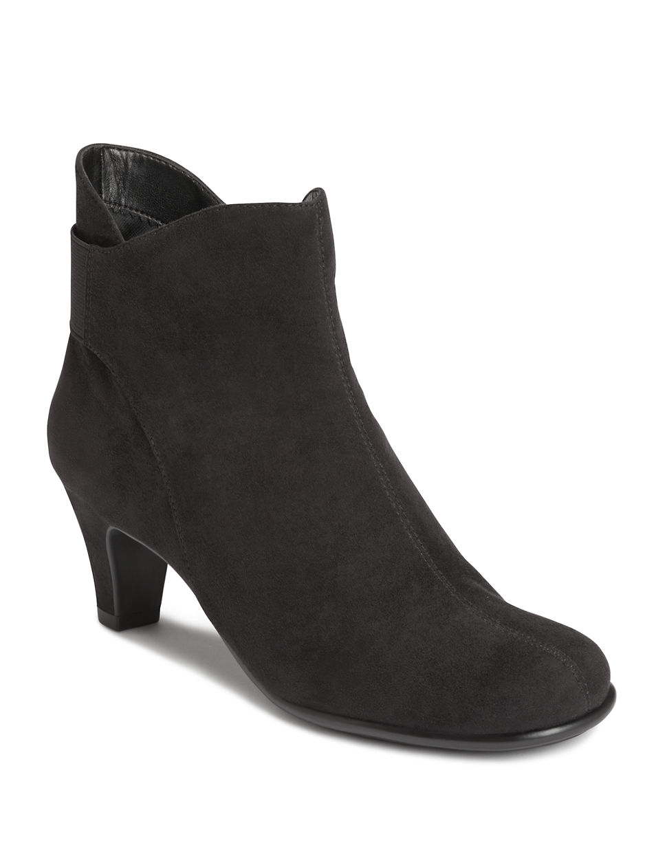 aerosoles play again ankle boots in black lyst
