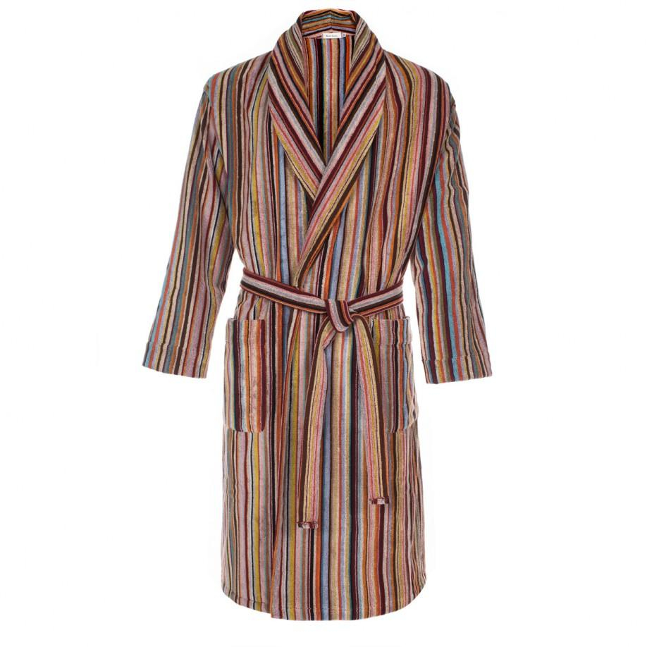 Men S Dressing Gowns: Paul Smith Men's Signature Striped Towelling Dressing Gown