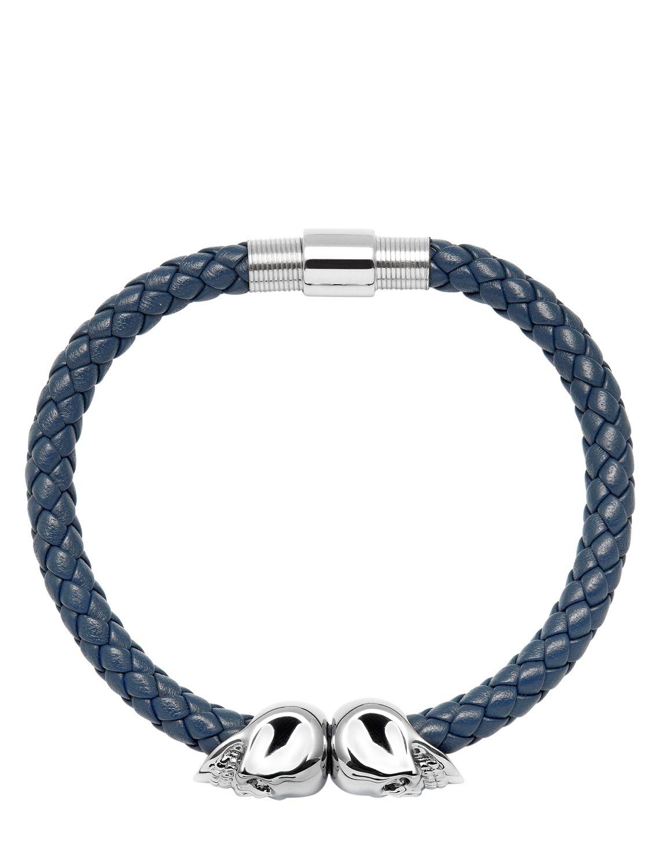Northskull woven bracelet - Blue G2TKn00t