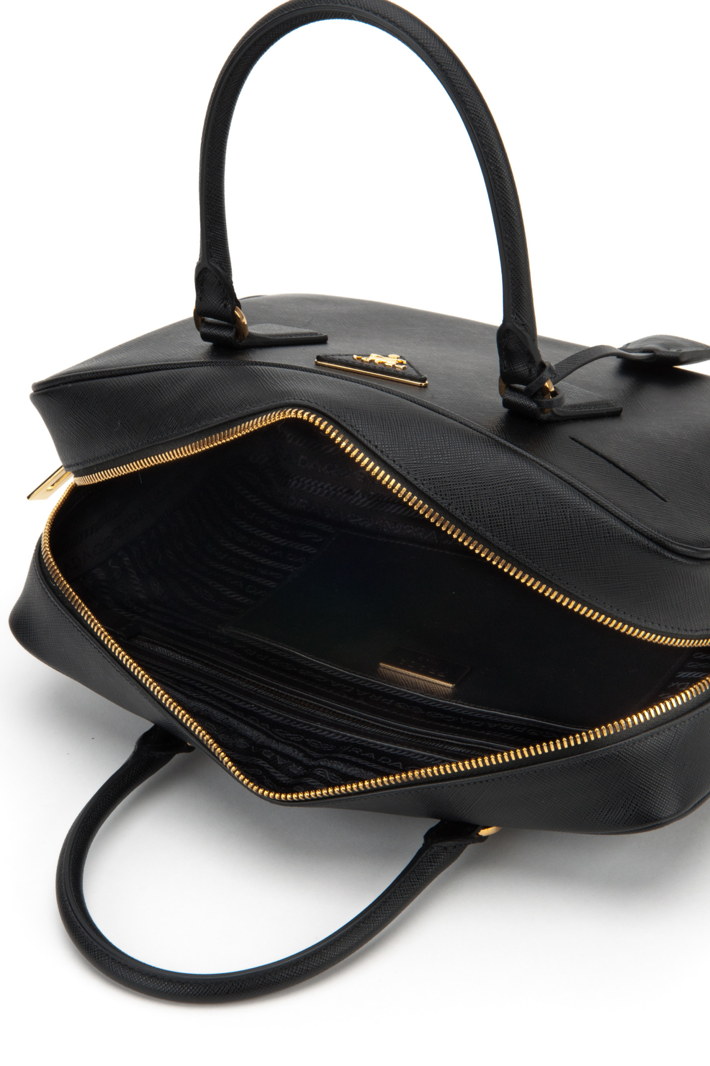 da865dbb3331 prada black bowling bag