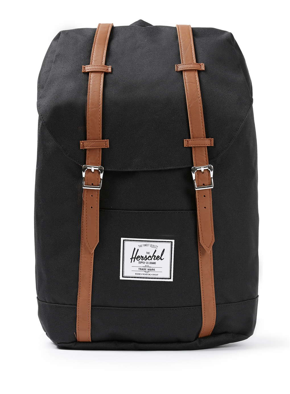 herschel supply co black backpack in black for men lyst. Black Bedroom Furniture Sets. Home Design Ideas