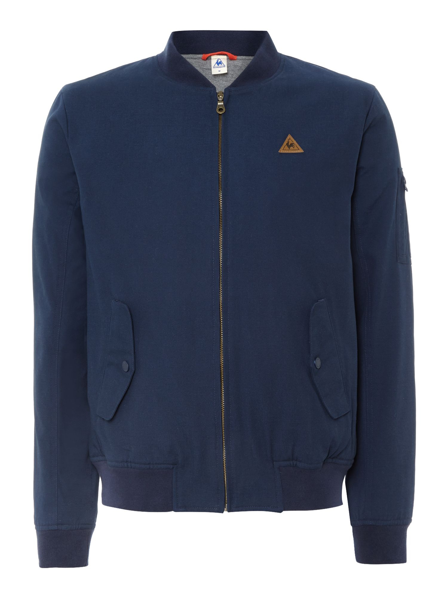 le coq sportif fantaise mirantin bomber jacket in blue for men lyst